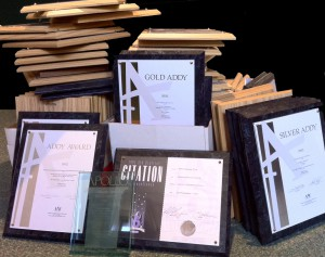 Boxes of awards image