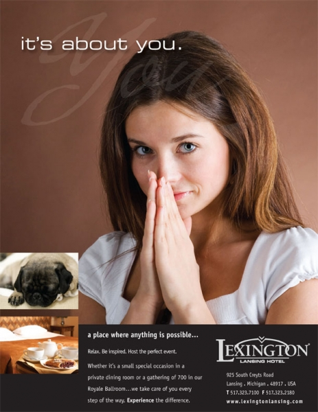 Lexington Hotel Ad
