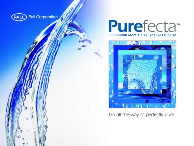 Pall Corporation Purfecta Brochure
