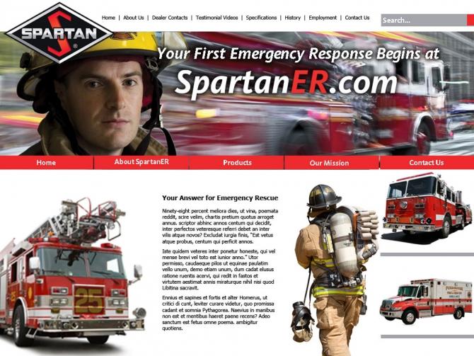 Spartan Motor Web Page