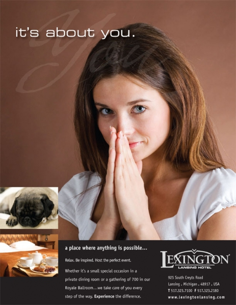 Lexington Hotel Ad