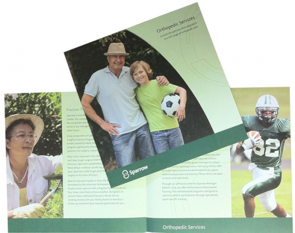 Sparrow Orthopedics Fulfillment Brochure